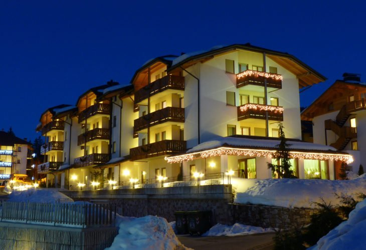 Inverno all'Hotel Select di Andalo