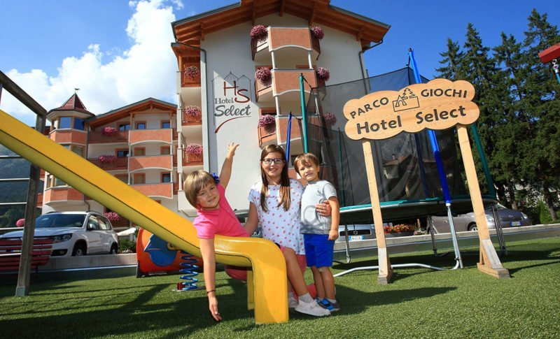 Parco giochi per bambini dell'Hotel Select