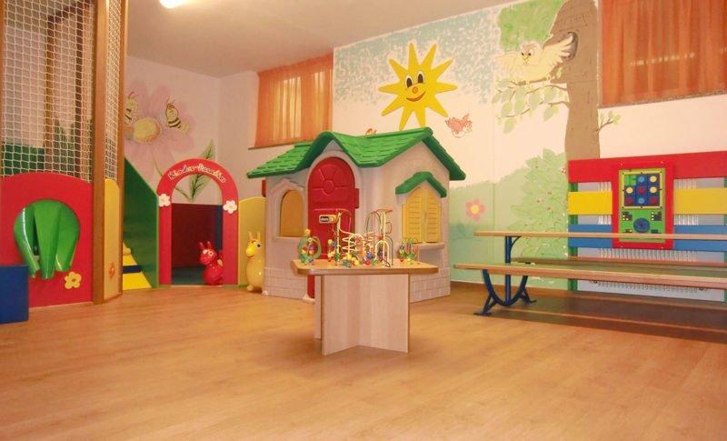Sala giochi e animazione per bambini