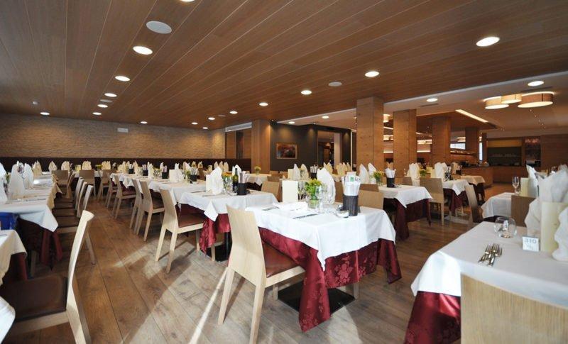 Sala ristorante Hotel Select